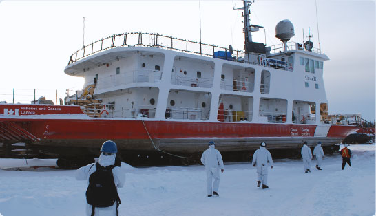 iem marine ships cold weather